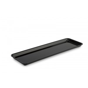 Plexi plate GN 2/4 17 BLACK - 530x162x17mm
