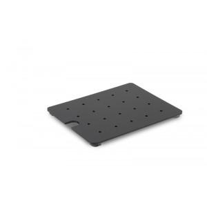 Plexi grid GN 1/5 BLACK 225x160x10mm