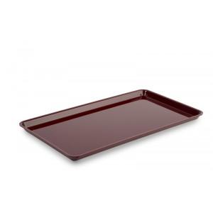 Plexi plate GN 3/4 17 BORDEAUX - 487x265x17mm