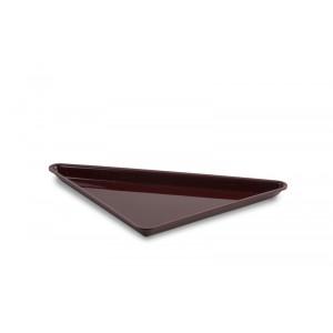 Plexi triangle small BORDEAUX - 270x270x370mm