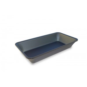 Plexi tray GN1/3 50 DARK SMOKE- 325x176x50mm